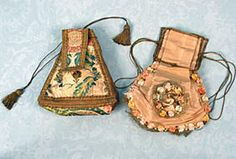 Silk Reticule, c. 1740 March 25, 2004 - Session 2 - Lot 579