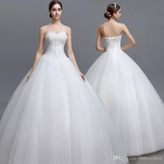 Lgm012 2017 Dreaming Puffy Ball Gown Wedding Dresses Sweetheart With Exquisite Beaded Crystal Floor Length Vintage Bridal Gown Real Image Wang Designer Wedding Dresses Wedding Designers Dresses From Ourfreedom, $117.59| Dhgate.Com