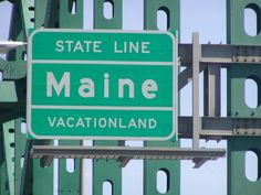 Welcome to Maine -