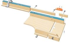 Crosscut Sled Exploded View