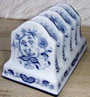 our current Ebay auction items, including a Meissen blue onion toast rack AR mark.