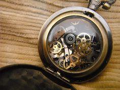 Unidentified Gadget steam punk pocket watch device by AgentOfChaos, $20.00