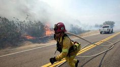 Julian Fire May 2012. Hope all California residents have adequate fire coverage on their Home Insurance