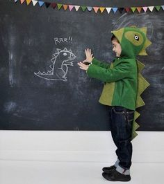 Play Along to Jurassic Park with This Dinosaur Costume #stockingstuffer #gifts trendhunter.com