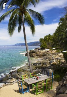 Would you like to have luch here? Casitas Maraika hotel in Puerto Vallarta, Mexico.