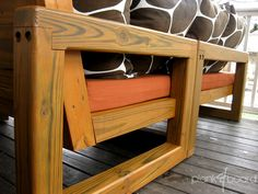 furniture - Atlanta, Georgia contemporary outdoor patio furniture (custom and handmade)   plank&board