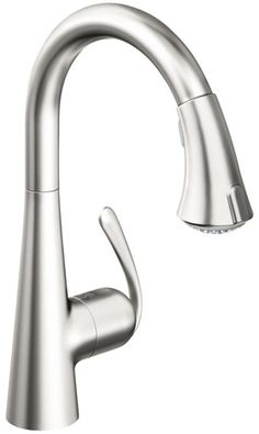 Option #1 Grohe 32 298 SD0 Pull-Down Kitchen Faucet 304 stainless steel material