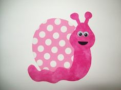 Fabric Applique TEMPLATE ONLY Snail by etsykim on Etsy, $1.50