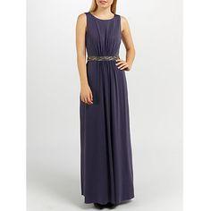 Buy Ariella Orla Maxi Dress, Grape Online at johnlewis.com
