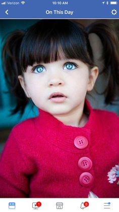 Little Girl Black Hair Blue Eyes Google Search Adolescent Canis