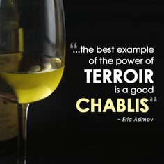 Eric Asimov showcases the beauty of Chablis and why no other wine region in the world can make a good Chablis on this month's Wine Lesson in The New York Times. http://nyti.ms/1vnVs8G