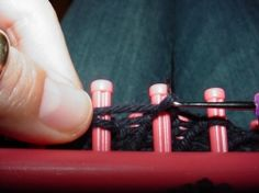 how to use knifty knitter - plus free patterns