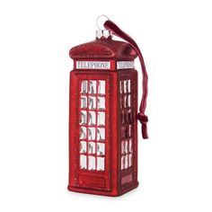 Phone Box Tree Decor
