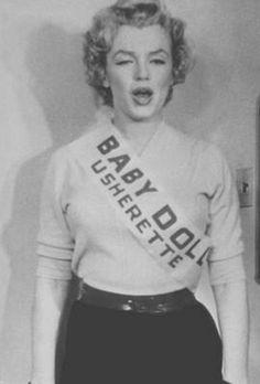Marilyn Monroe Baby Doll