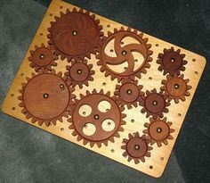 #wooden gear #puzzle for #kids