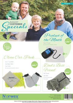 Norwex Australia August customer specials has the perfect gift for dad covered this coming Father's Day
