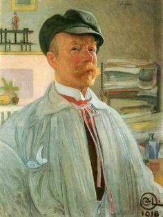 ART & ARTISTS / Carl Larsson Self-portrait