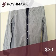 H&M long buttoned down shirt Hardly worn H&M Shirts Dress Shirts