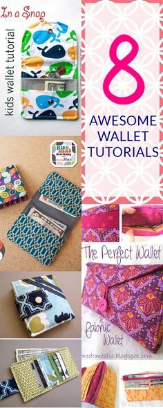DIY wallet | wallet sewing pattern pdf | tri fold wallet pattern free | mens wallet pattern | wallet pattern leather how to sew a wallet with pockets
