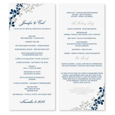 instantly download and print these designer wedding program