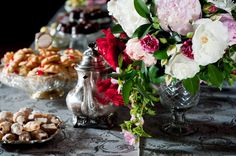 Vintage style fruit & candy bar for Forbes Gala 100 – DS Premium Event Design & Planning