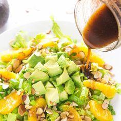 Orange Almond Salad with Avocado - Fitnessmagazine.com
