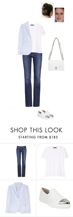 """""""Sem título #6544"""" by gracebeckett on Polyvore featuring moda, Tory Burch, The Row, Band of Outsiders e Miu Miu"""