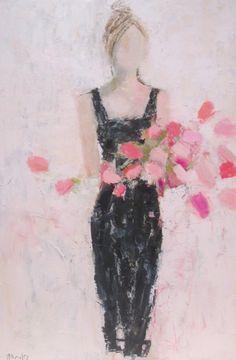 The Parisian by Holly Irwin | #dkGallery | Marietta, GA | SOLD