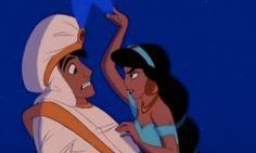 Aladdin tells a lie, the feather on his hat falls forward. Whenever Aladdin tells a lie, the feather on his hat falls forward. Disney Films, Disney Pixar, Walt Disney, Disney E Dreamworks, Disney Animation, Disney Love, Disney Magic, Disney Characters, Disney Couples