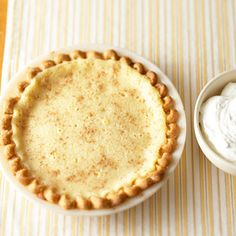 Buttermilk Pie Return to your childhood with this custard recipe that's just like Grandma used to make.
