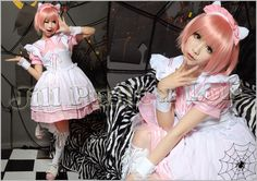 Lolita Fantasy Japan Kera Dreamy Cafe Black Butler Cosplay Maid Dress Costume P | eBay