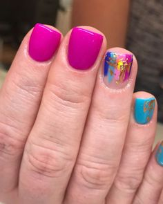 Nail art Christmas - the festive spirit on the nails. Over 70 creative ideas and tutorials - My Nails Spring Nails, Summer Nails, Shellac Nails, Nail Polish, Gel Nail, Cute Nails, Pretty Nails, Hair And Nails, My Nails