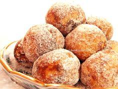 Bunatati de prin lume adunate: Gogosi la cuptor cu scortisoara Deserts, Muffin, Gluten Free, Sweets, Baking, Sugar, Breakfast, Food, Diet