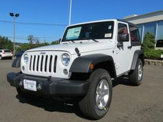 2014 Jeep Wrangler Sport 4x4 Sport 2dr SUV SUV 2 Doors White for sale in Wallingford, CT Source: http://www.usedcarsgroup.com/used-jeep-for-sale-in-wallingford-ct