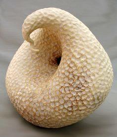 Elizabeth Shriver: Swan Gourd, 2007, Ceramic