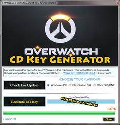 Overwatch Free CD Key Generator-Keygen
