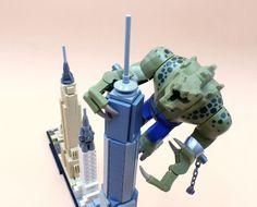 Vite testé : LEGO Architecture Skyline 21028 New York City: Histoire de faire une pause dans le montage des sets de la gamme The LEGO… #LEGO