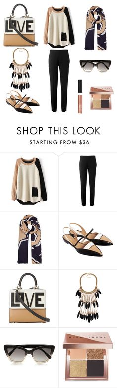 """""""⭐ Fall Colors ⭐"""" by the-styling-corner ❤ liked on Polyvore featuring Chloé, Diane Von Furstenberg, De Siena, Prism, Bobbi Brown Cosmetics, Wet n Wild, Fall, black, beige and hijab"""