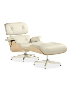 Eames Leather Lounge Chair from Room & Board - seriously chic.