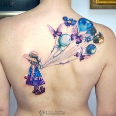 Mom Tattoos Discover Watercolor Tattoos Will Turn Your Body into a Living Canvas creative watercolor tattoo ideas tattoo artist TATTOO ТАТУ ТЮРПЕКО МАРЬЯ Bild Tattoos, Mom Tattoos, Sexy Tattoos, Body Art Tattoos, Fairy Tattoo Designs, Best Tattoo Designs, Tattoo Designs For Women, Tattoo Kind, Tattoo Femeninos