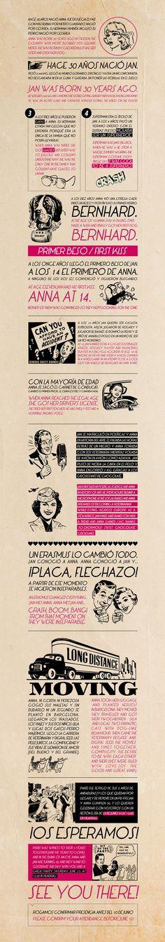 30th birthday invitation by Mr. Wonderful, graphic design
