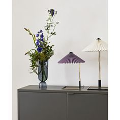 Hay's Matin is a delightfully delicate table lamp designed by Inga Sempé. The lamp is defined by its beautifully pleated shade, available in an array of both bright and subdued colours, that is positioned on a slender, geometric metal stand. Copenhagen Design, Table Led, Hay Design, Design Shop, Maurer, Muuto, Interior Design Awards, Small Tables, Artists