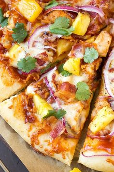 Hawaiian BBQ Chicken Pizza | Cooking Classy