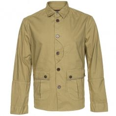 Barbour Caswell Button Through Shirt Trench