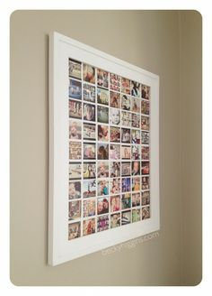 Instagram display - With pics of my hubby & I throughout our relationship.