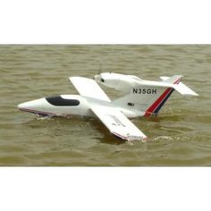 Sea Wind Wooden RC Airplane Kit