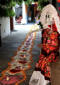 Navigating the Dia de los Muertos Festival; Oaxaca Mexico (article)
