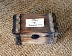 Hey, I found this really awesome Etsy listing at https://www.etsy.com/listing/100892566/personalized-card-box-trunk-wine-love