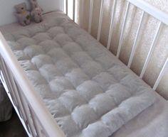 "Hemp mattress with Buckwheat hulls for baby 20""x36""in/ Organic mattress / topper / Hemp floor mat cushion / Meditation Yoga"
