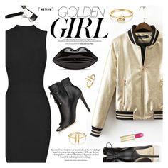"""Golden Girl"" by metisu-fashion ❤ liked on Polyvore featuring Murphy, Jimmy Choo, Lancôme, Paul & Joe, polyvoreeditorial, polyvoreset and metisu"